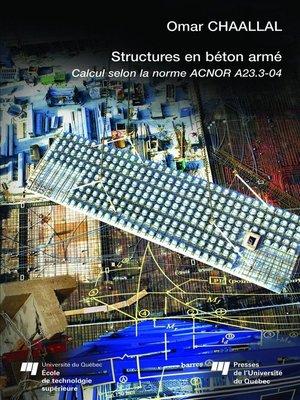 cover image of Structures en béton armé - Revu et corrigé