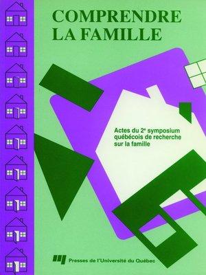 cover image of Comprendre la famille II