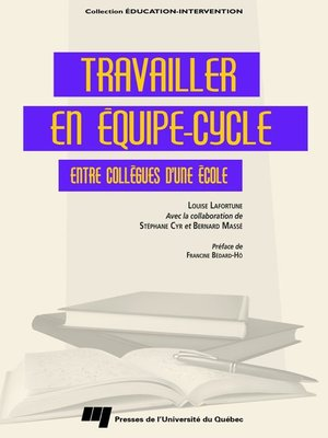 cover image of Travailler en équipe-cycle