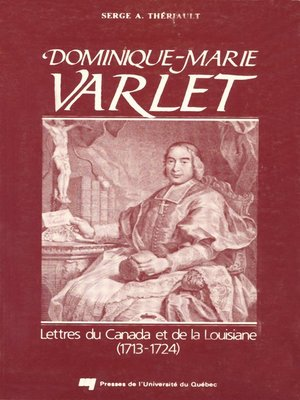 cover image of Dominique-Marie Varlet