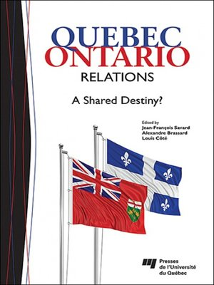 cover image of Quebec-Ontario Relations