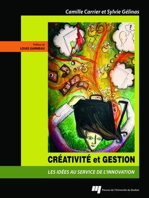 cover image of Créativité et gestion