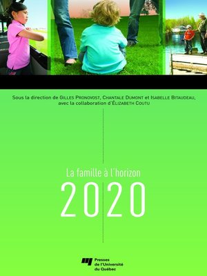 cover image of La famille à l'horizon 2020