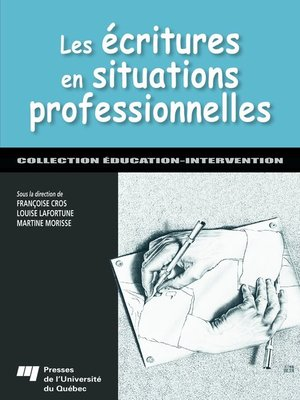 cover image of Les écritures en situations professionnelles