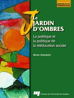cover image of Le jardin d'ombres