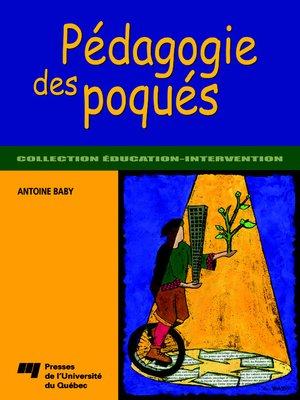 cover image of Pédagogie des poqués