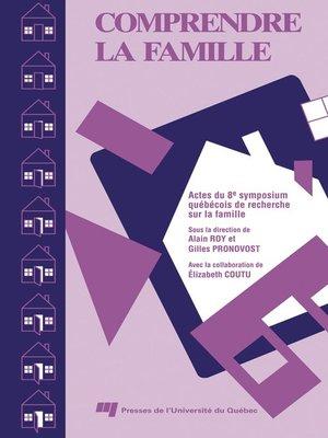 cover image of Comprendre la famille VIII