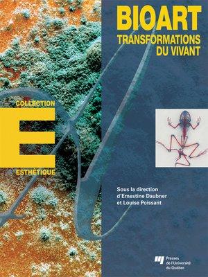 cover image of Bioart