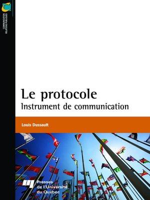 cover image of Le protocole