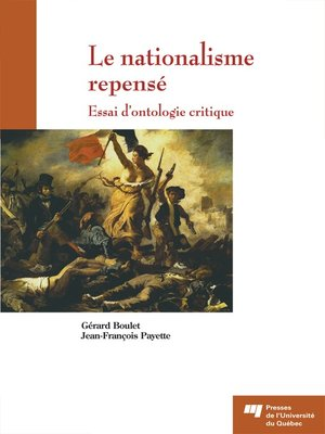 cover image of Le nationalisme repensé