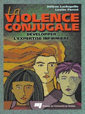 cover image of La violence conjugale