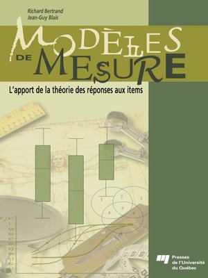 cover image of Modèles de mesure