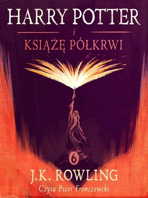 cover image of Harry Potter i Ksiaze Pólkrwi