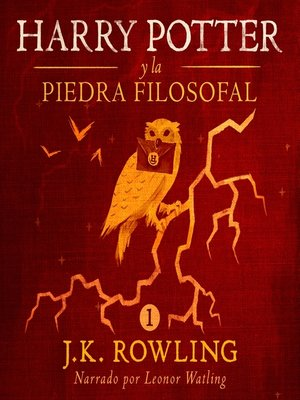 cover image of Harry Potter y la piedra filosofal