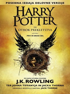 cover image of Harry Potter in otrok prekletstva Prvi in drugi del