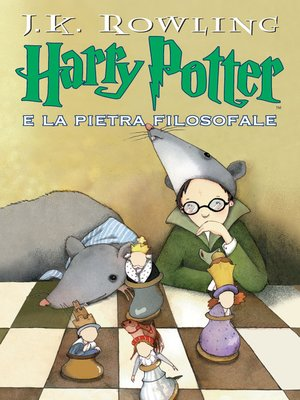 cover image of Harry Potter e la Pietra Filosofale