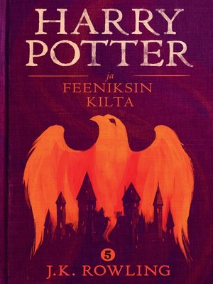 cover image of Harry Potter ja Feeniksin kilta