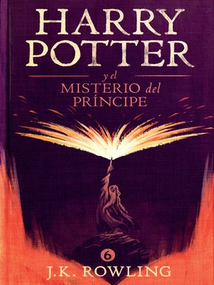 cover image of Harry Potter y el misterio del príncipe