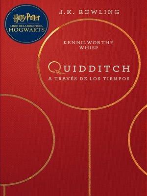 cover image of Quidditch a través de los tiempos