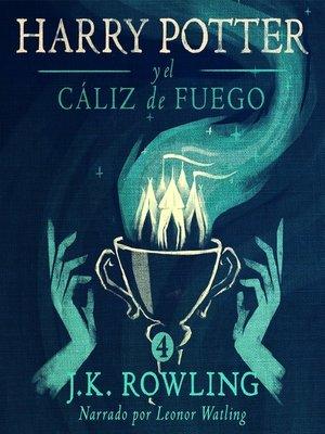 cover image of Harry Potter y el cáliz de fuego