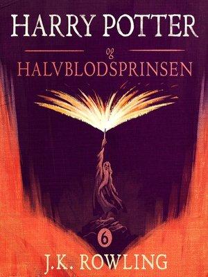 cover image of Harry Potter og Halvblodsprinsen