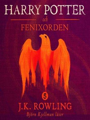 cover image of Harry Potter och Fenixorden