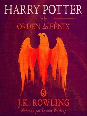 cover image of Harry Potter y la Orden del Fénix