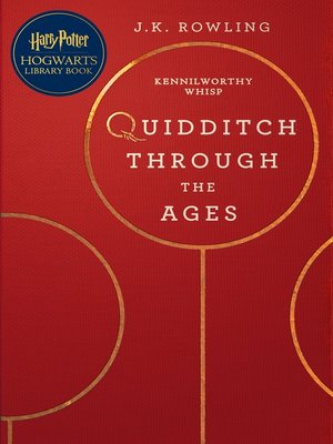 cover image of Quidditch Through the Ages