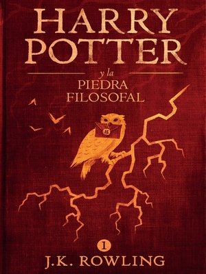 cover image of Harry Potter y la piedra filosofal