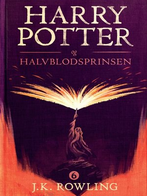 cover image of Harry Potter og Halvblodsprinsen
