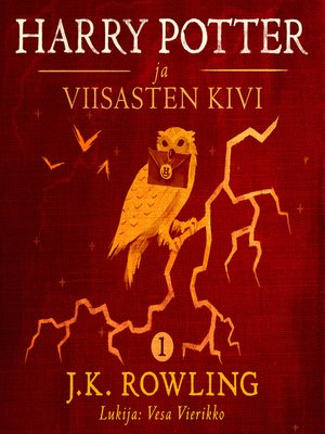 cover image of Harry Potter ja viisasten kivi