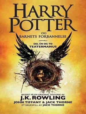 cover image of Harry Potter og Barnets forbannelse
