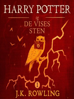 cover image of Harry Potter og De Vises Sten