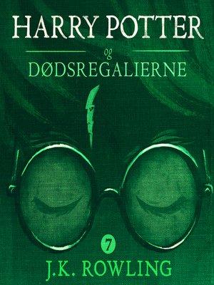 cover image of Harry Potter og Dødsregalierne