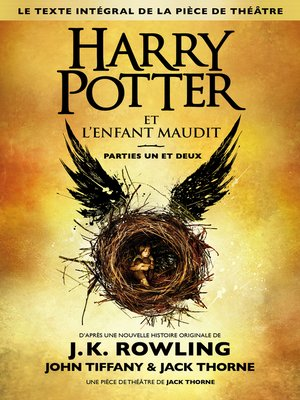 cover image of Harry Potter et l'Enfant Maudit Parties Un et Deux