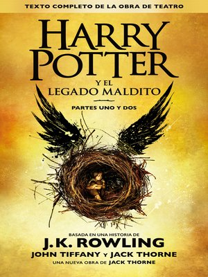 cover image of Harry Potter y el legado maldito