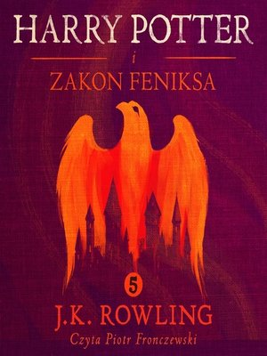 cover image of Harry Potter i Zakon Feniksa