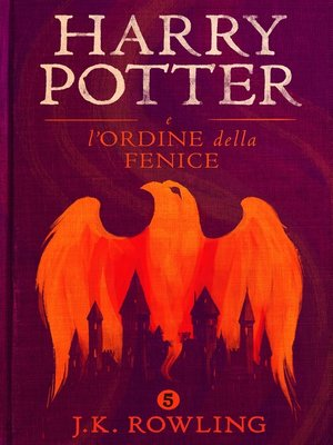 cover image of Harry Potter e l'Ordine della Fenice
