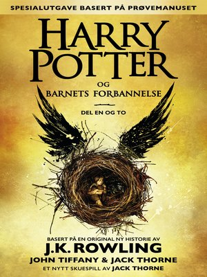 cover image of Harry Potter og Barnets forbannelse Del en og to