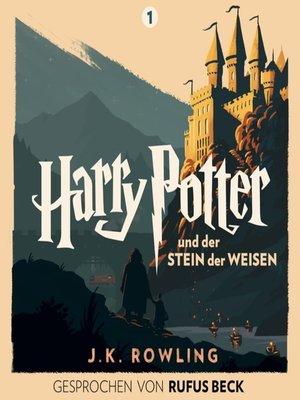cover image of Harry Potter und der Stein der Weisen