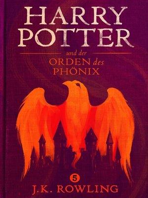 cover image of Harry Potter und der Orden des Phönix