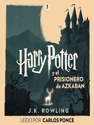 cover image of Harry Potter y el prisionero de Azkaban
