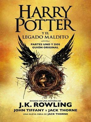 cover image of Harry Potter y el legado maldito