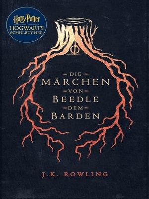 cover image of Die Märchen von Beedle dem Barden