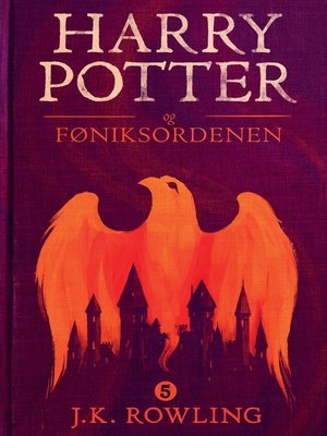 cover image of Harry Potter og Føniksordenen