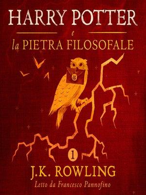 cover image of Harry Potter e la Pietra Filosofale