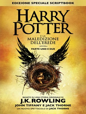 cover image of Harry Potter e la Maledizione dell'Erede Parte Uno e Due