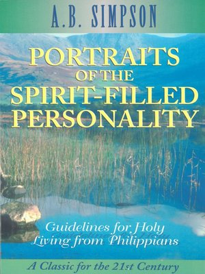 cover image of Portraits of the Spirit-Filled Personality