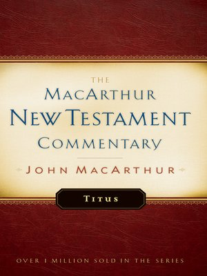 cover image of Titus MacArthur New Testament Commentary