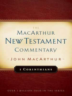 cover image of 1 Corinthians MacArthur New Testament Commentary